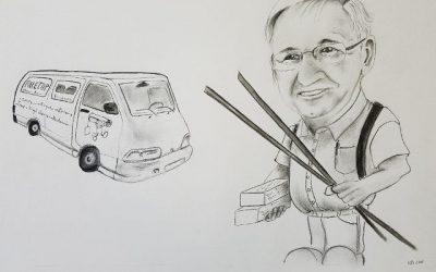 Tekenen van een karikatuur