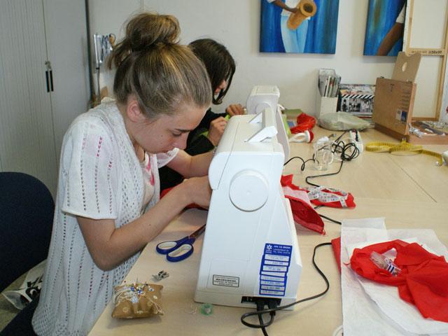 Naaicursus volgen bij modevakschool Atelier Quality
