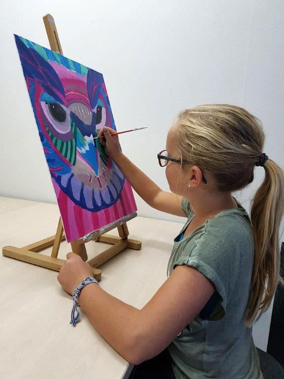 schilderles tekenles voor kinderen