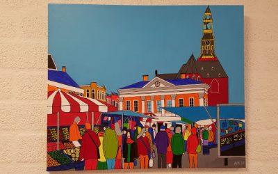 Aankondiging: schilderijenexpositie cursisten Atelier Quality